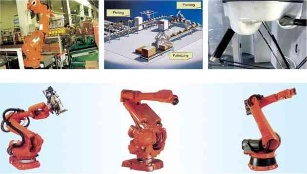 EJR机器人自动包装系统