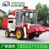 3行小麦型玉米收获机 80-95马力收获机 玉米收获机性能